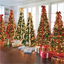 shop atificial christmas trees pre decorated pre lit u0026 pop up