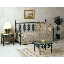 Wrought Iron Daybed Garden Wrought Iron Daybed Ornate Scrollwork Dcg Stores