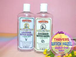 Toner Mizu mizuchan review thayers witch hazel alchol free toner