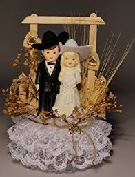 amazon com roped with love western wedding cake topper kitchen