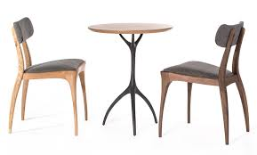 Round Bistro Table Talon Round Bistro Table Table Products Reeves Design