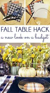 five minute friday thanksgiving table setting hack blue i style