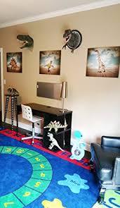 Dinosaur Nursery Decor Dinosaur Wall For Rooms Dinos On The Run Boys Room