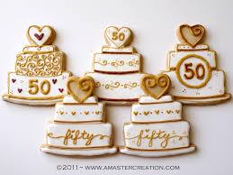 50 year wedding anniversary celebrating 50 years 50th anniversary cookies anniversary