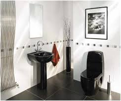 black white and red bathroom decorating ideas peenmedia com