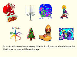 holidays around the world and how celebra it