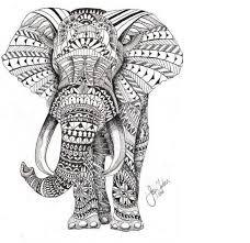31 indian elephant tattoos