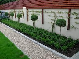 Garden Walls And Fences by Garden Fencing Design Dublin Landscaping Ie
