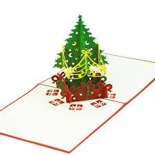 tree pop up card custom pop up card supplier charm pop
