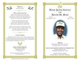 sle funeral program template program template free leversetdujour info
