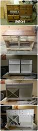 Bench Made From Old Dresser Dresser Turned Storage Console Dresser Consoles And Diy Furniture