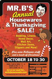 canada thanksgiving sale mr b u0027s housewares u0026 thanksgiving sale in mississauga oct 18 30