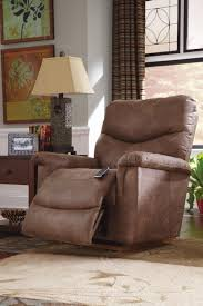 Leather Rocker Recliner Faux Leather Casual Power Recline Xr Reclina Rocker Recliner By