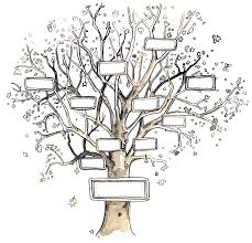 ideas of simple family tree designs great family tree blank