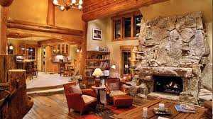 rustic livingroom 15 homey rustic living room designs home design lover amazing of