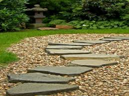 decorative garden stepping stones pebble concrete stepping stones