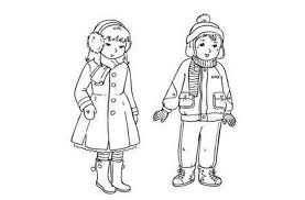 free doll outline coloring pages