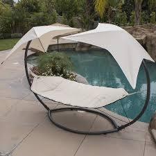 bayou breeze natashia sunroof dual hammock with stand u0026 reviews