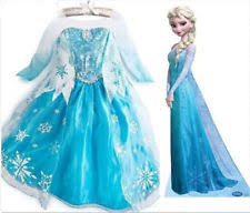 Frozen Costume Elsa Dress Ebay