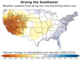 Map Of United States Regions by Southwest Dries As Wet Weather Systems Become More Rare Ucar
