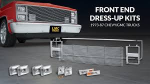 1986 chevy c10 tail lights front end dress up kit for chevy gmc trucks trucku with lmc