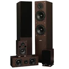 home theater system f d fluance sxhtbw 5 speaker surround sound home theater system