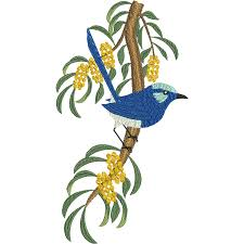 machine embroidery designs australian birds micnali