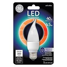 Medium Base Led Light Bulbs by Ge 40w Equivalent Soft White 2700k High Definition A15 White