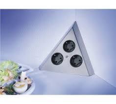 ecksteckdose küche ecksteckdosen steckdosen küchenzubehör aus bielefeld