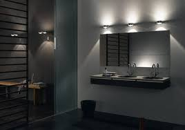 impressive mirror design ideas two different above bathroom lights