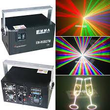 color rgb 4w laser light professional dj equipment club