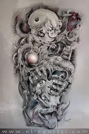 sleeve custom work ellegottzi fehuink fehu ink
