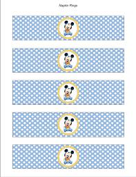 baby mickey baby shower baby mickey baby shower napkin rings birthday party