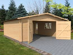 log cabin garage plans garage door decoration double garage doors for large garages where a person tends to work on their car there is more room in a large garage for this purpose
