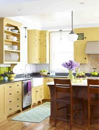 kitchen stylish yellow kitchen cabinets kitchen style