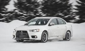 white mitsubishi lancer 2017 2015 mitsubishi lancer evolution mr test u2013 review u2013 car and driver