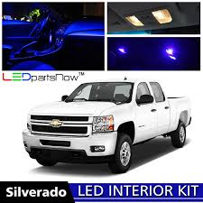 2007 Chevy Silverado Pics Amazon Com Ledpartsnow Chevy Silverado 2007 2013 Blue Premium Led