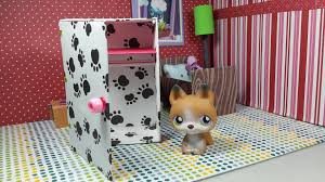 make a tiny closet wardrobe easy lps diy youtube