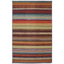 Stripe Indoor Outdoor Rug Striped Outdoor Rugs Rugs The Home Depot