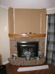 fireplace makeover indoor outdoor home designs u0026 ideas