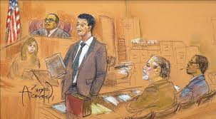 sketches of court jury finds cab driver liable in car accident