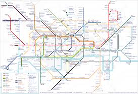 2007 World Map by Tube Map Alex4d Old Blog