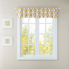 buy yellow curtains valances from bed bath u0026 beyond