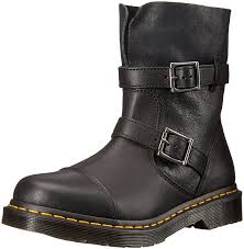 motorcycle boots amazon com dr martens women u0027s kristy in black virginia leather