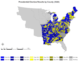 1860 Election Map by 1860 Us Presidential Election Of 1860 By County 1820 1860