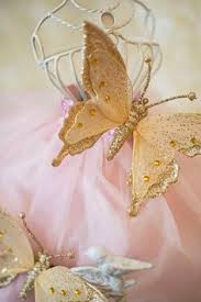 butterfly kisses pink gold s day tea gold