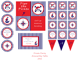 nautical party decorations party favors ideas