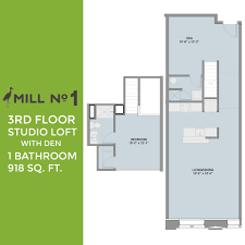 1 Bedroom House Floor Plans View Floorplans Mill No 1 Mixed Use Development Project Of