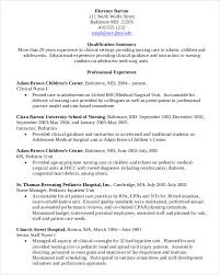 Director Of Nursing Resume Sample Modern Resume Templates 42 Free Psd Word Pdf Document Download