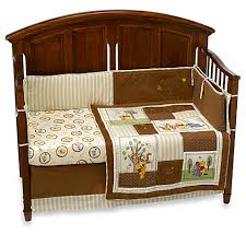 Winnie The Pooh Crib Bedding Winnie The Pooh Day In The Park 4 Crib Bedding Set Bed